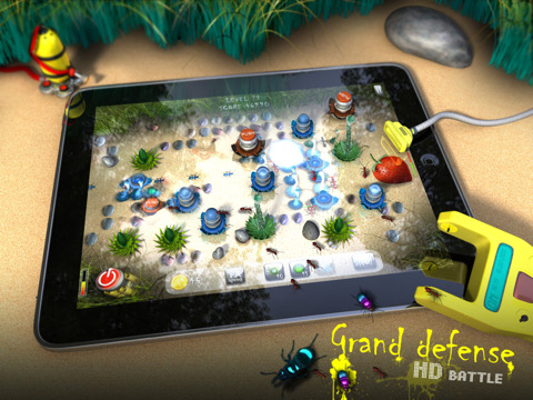 Grand Defense HD iTouch App Review