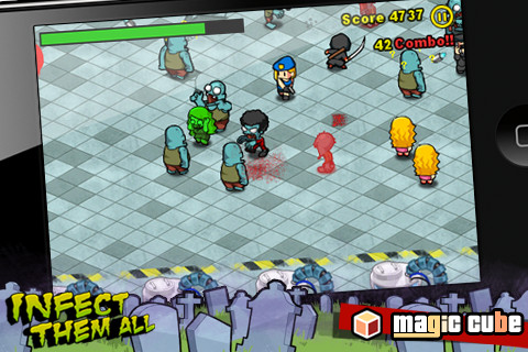 Infect Them All iTouch App Review