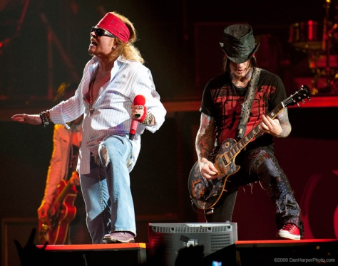 Guns And Roses Intimate US Tour Annoucement