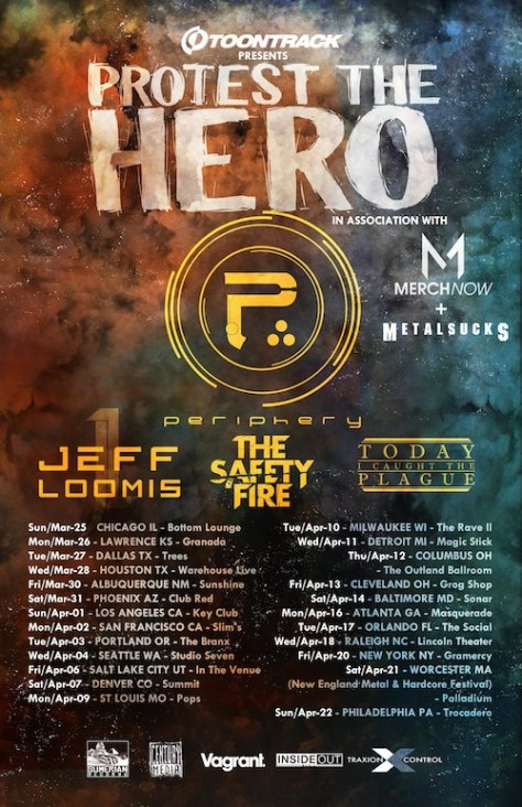 Protest The Hero 2012 Tour Announcement