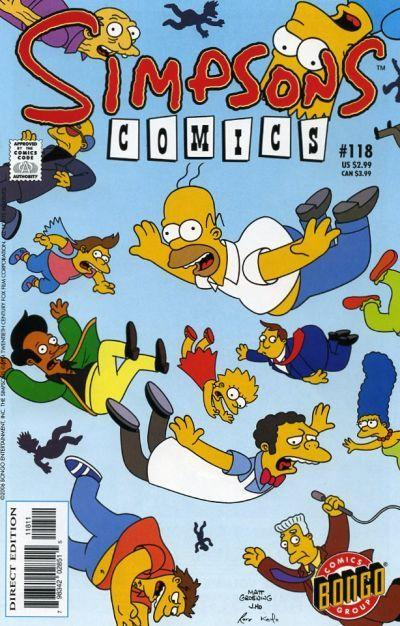 Simpsons Comics Issue #118 Review