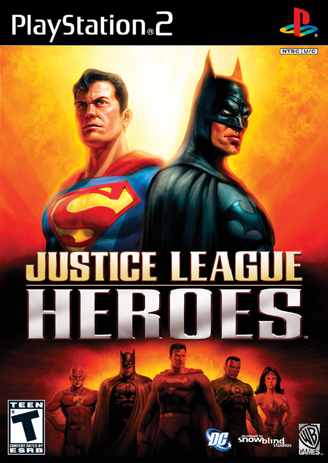 Justice League Heroes (2006) PS2 Game Review