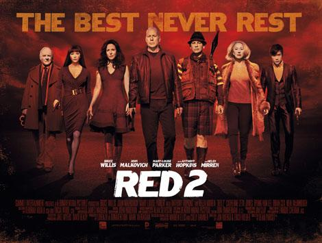 RED 2 (2013) Movie Review