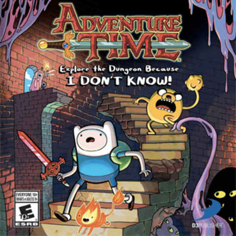 Adventure Time Explore the Dungeon Because I Don't Know Game Review