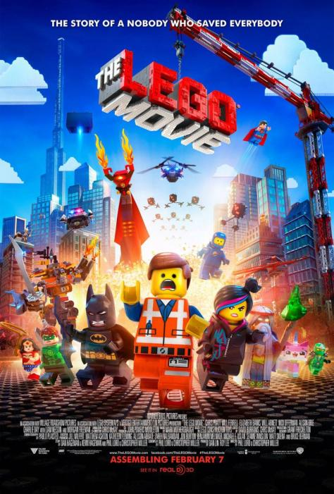 The Lego Movie 3D (2014) Movie Review