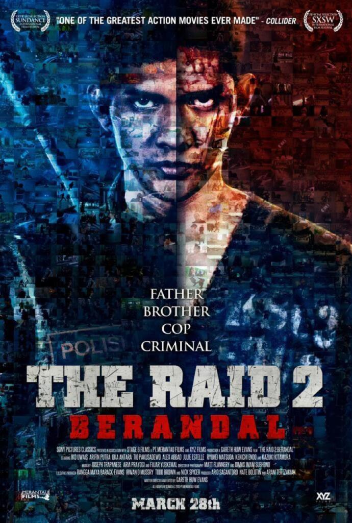 The Raid 2 (2014) Movie Review